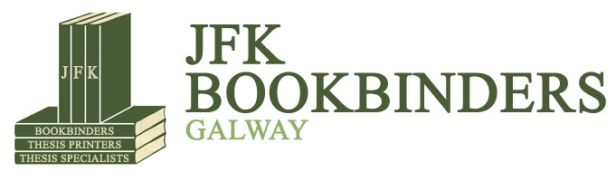 JFK Bookbinders Galway | Thesis Specialists